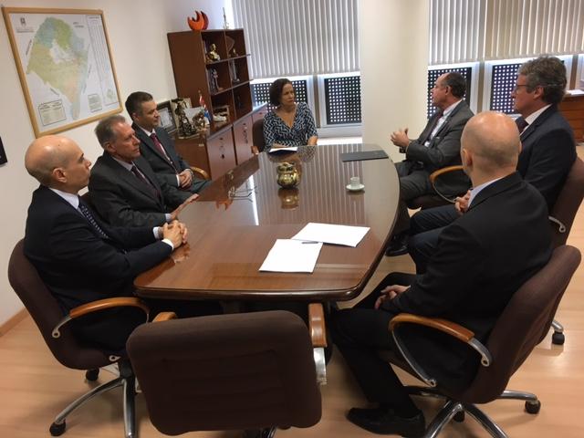 CGJ/RS Recebe Visita Da Comitiva Notarial E Registral Para Entrega Do Convite Do XI Encontro